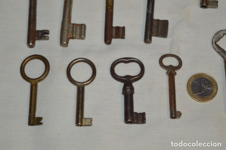 Antigüedades: Lote 03 -- Compuesto por 18 llaves variadas antiguas - ¡Mirar fotos y detalles! - Foto 9 - 192171897