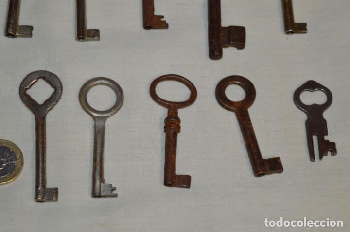 Antigüedades: Lote 03 -- Compuesto por 18 llaves variadas antiguas - ¡Mirar fotos y detalles! - Foto 10 - 192171897