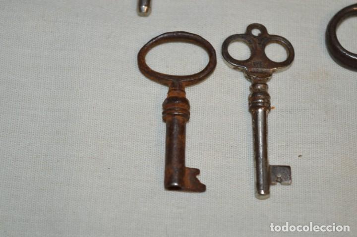 Antigüedades: Lote 05 -- Compuesto por 8 llaves variadas antiguas - ¡Mirar fotos y detalles! - Foto 9 - 192174103