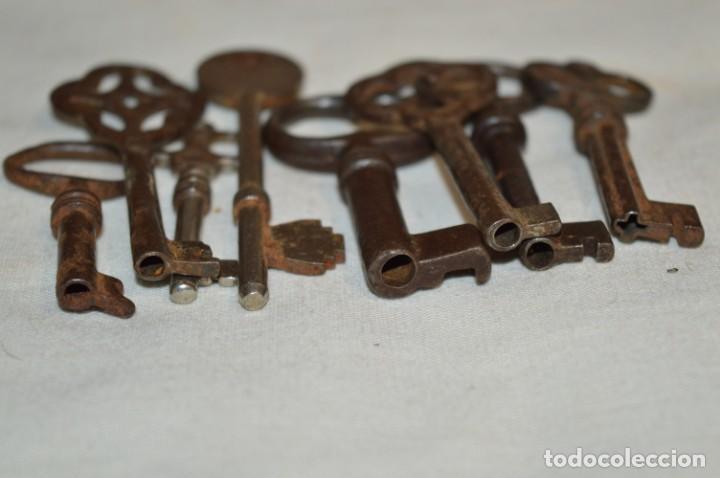 Antigüedades: Lote 05 -- Compuesto por 8 llaves variadas antiguas - ¡Mirar fotos y detalles! - Foto 12 - 192174103