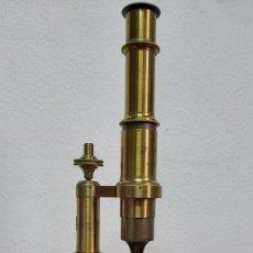 Antigüedades: MICROSCOPIO J&A MOLTENI PARIS DEL S.XIX. Lote 192189341