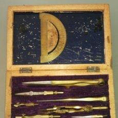 Antigüedades: CAJA COMPASES. Lote 192222045