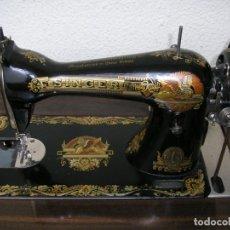 Antigüedades: MAQUINA DE COSER SINGER-Nº DE BASTIDOR F400904L. Lote 192232893