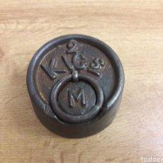 Oggetti Antichi: PONDERAL 2KG MARCA M. Lote 192255562