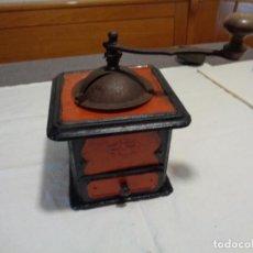 Antigüedades: MOLINILLO CAFÉ METÁLICO. Lote 192329388