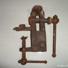 Antigüedades: TORNILLO DE PRENSA MORDAZA. Lote 192368780
