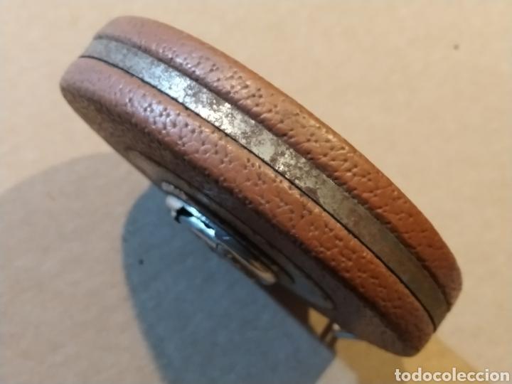 Antigüedades: Flexometro antiguo Freemans Record metal wired tape 20 metros - años 60/70 - Foto 4 - 192376530