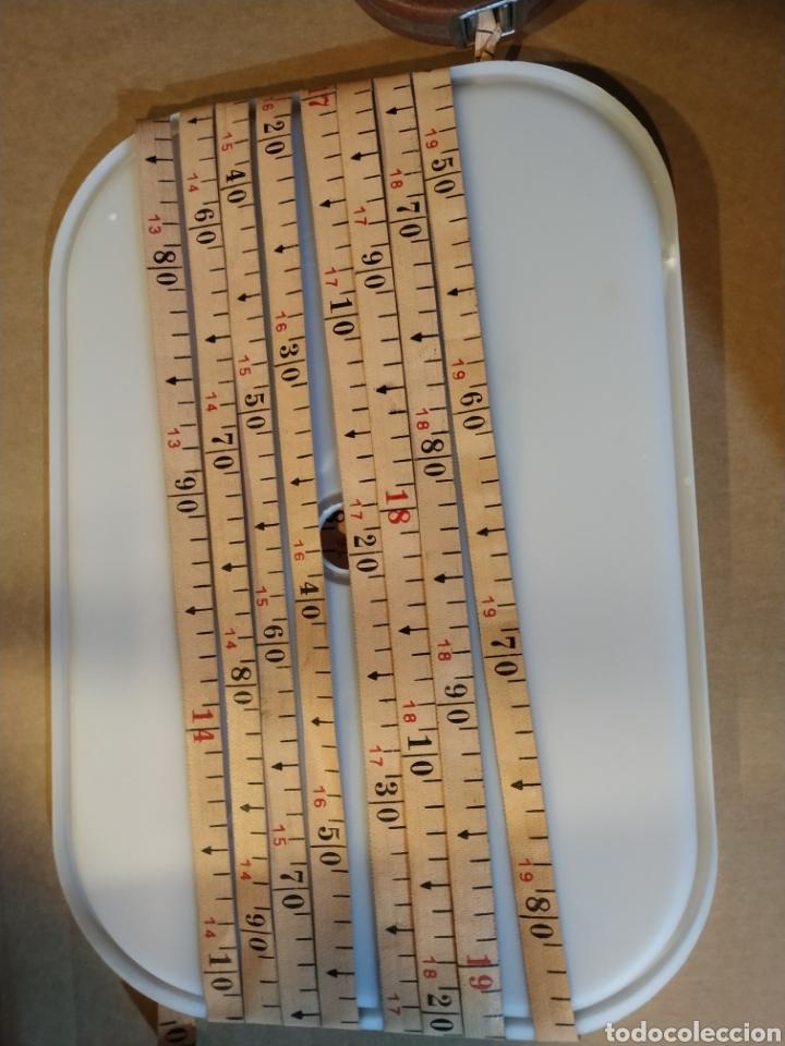 Antigüedades: Flexometro antiguo Freemans Record metal wired tape 20 metros - años 60/70 - Foto 9 - 192376530