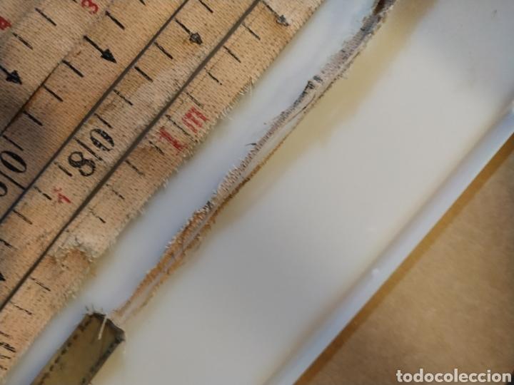 Antigüedades: Flexometro antiguo Freemans Record metal wired tape 20 metros - años 60/70 - Foto 15 - 192376530