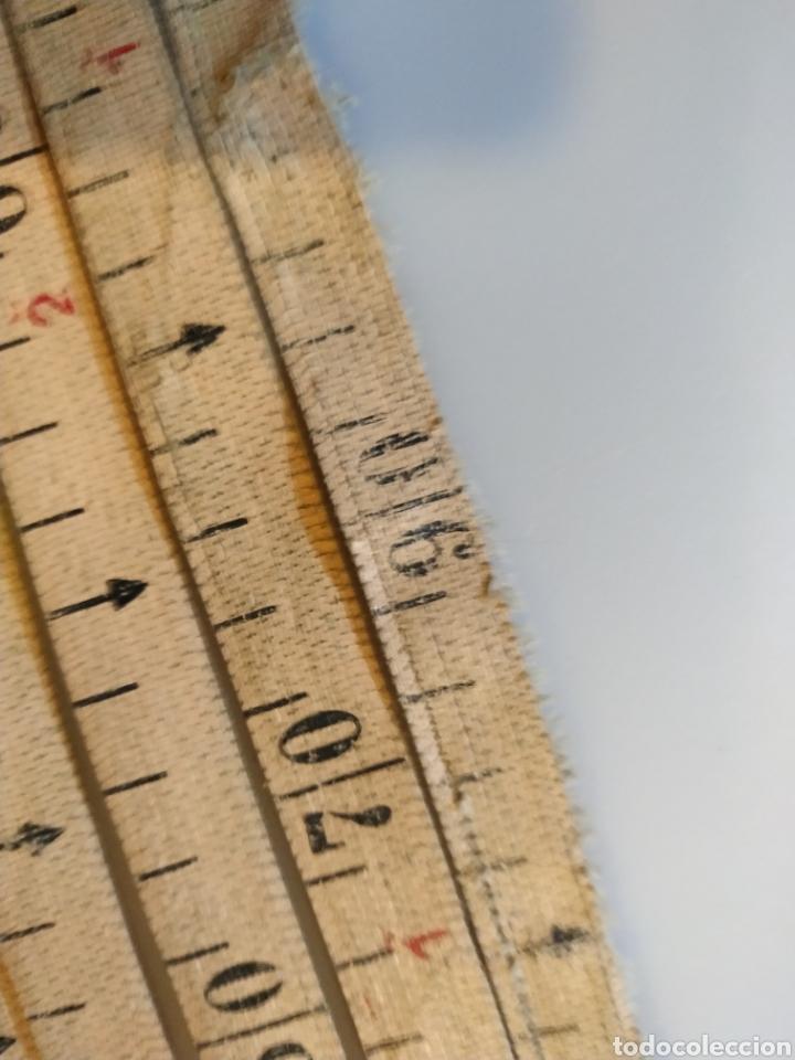 Antigüedades: Flexometro antiguo Freemans Record metal wired tape 20 metros - años 60/70 - Foto 24 - 192376530