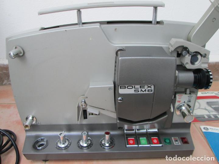 Antigüedades: Antiguo proyector BOLEX SM8, para restaurar o piezas, Leer descripción. - Foto 12 - 192379072