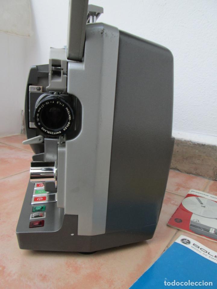 Antigüedades: Antiguo proyector BOLEX SM8, para restaurar o piezas, Leer descripción. - Foto 13 - 192379072