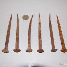 Antigüedades: CLAVOS FORJA. Lote 192388603