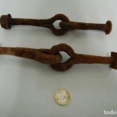Antigüedades: BISAGRAS FORJA. Lote 192391940