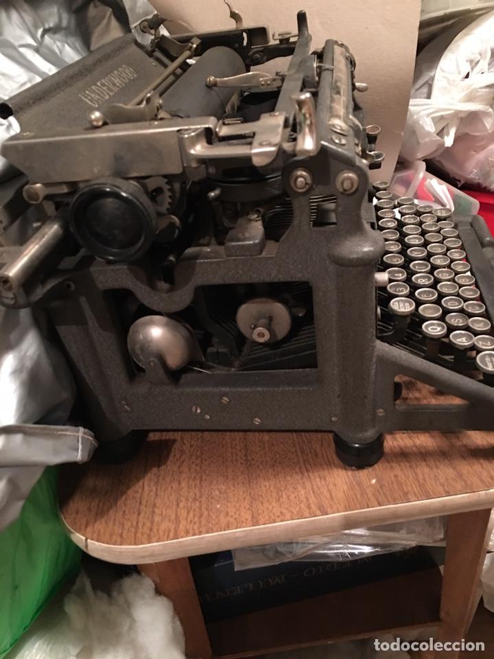 Antigüedades: Máquina escribir UNDERWOOD - Foto 2 - 192399971