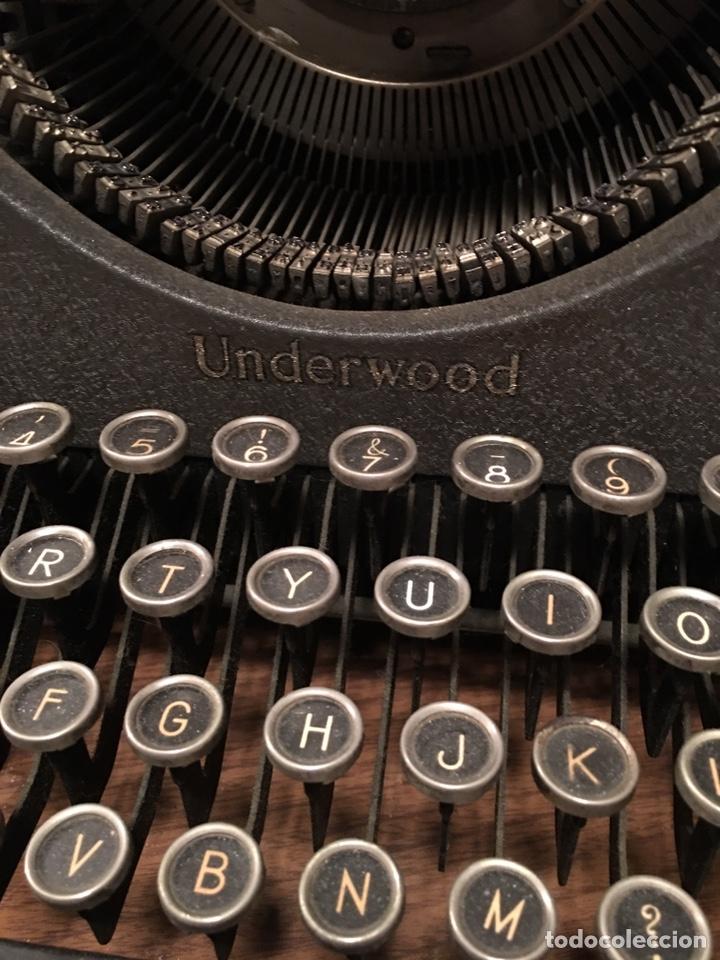 Antigüedades: Máquina escribir UNDERWOOD - Foto 3 - 192399971