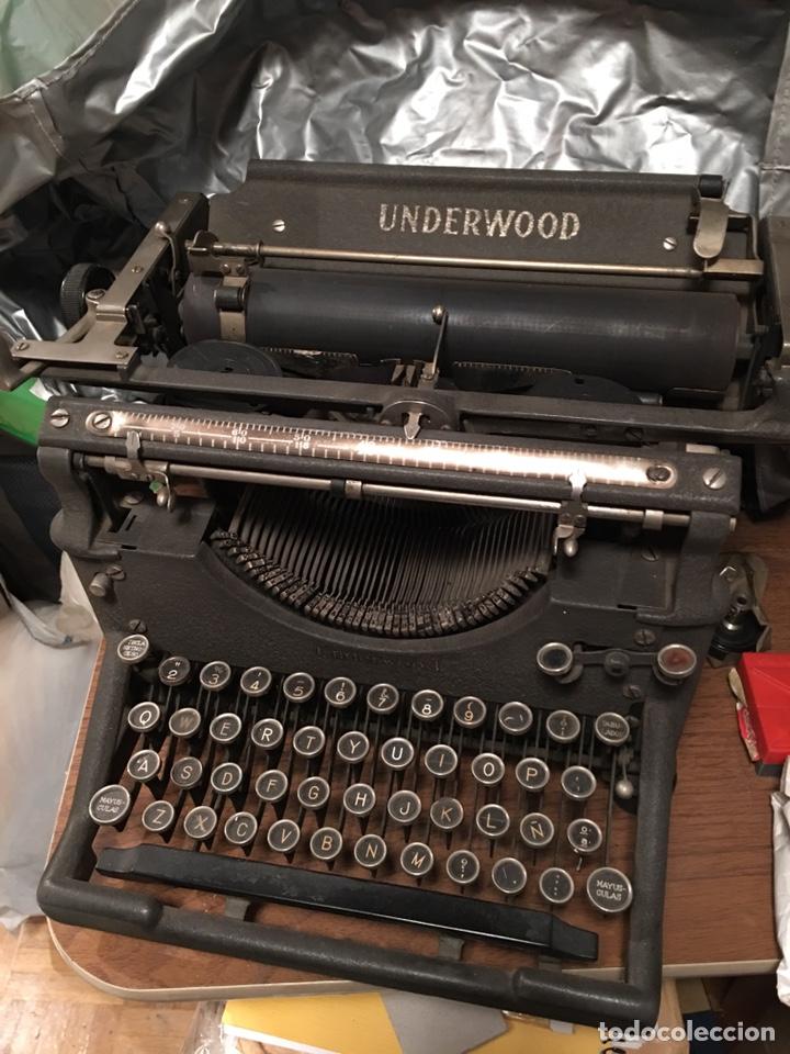 MÁQUINA ESCRIBIR UNDERWOOD (Antigüedades - Técnicas - Máquinas de Escribir Antiguas - Underwood)