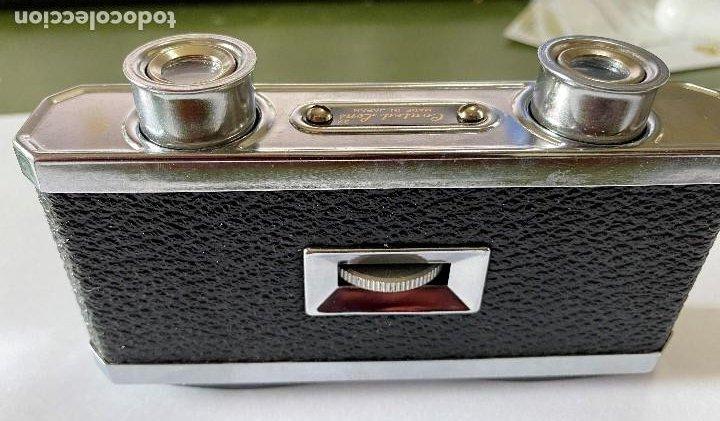 Antigüedades: Coleccion, Prismaticos binoculares con lentes rectangulares GREEN 3x, para teatro, deportes - Foto 4 - 192441873