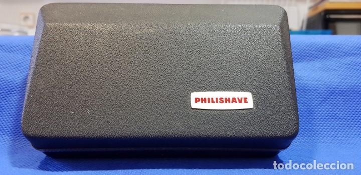 Antigüedades: Máquina de afeitar eléctrica (AÑOS 60) PHILISHAVE SC 9040 - Foto 4 - 192506786