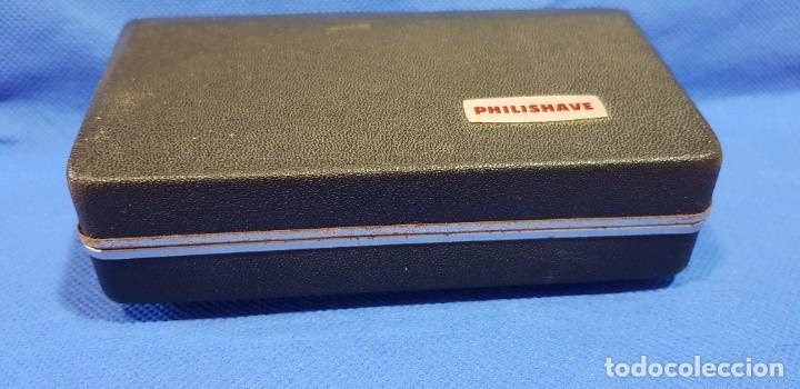 Antigüedades: Máquina de afeitar eléctrica (AÑOS 60) PHILISHAVE SC 9040 - Foto 5 - 192506786