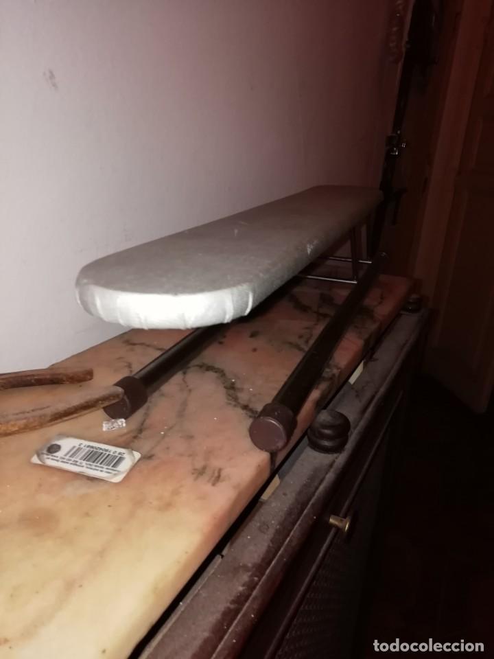 Antigüedades: tabla de planchar pequeña - Foto 5 - 192589616