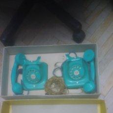 Teléfonos: PAYA ORIGINAL. TELEFONOS EN CAJA ORIGINAL. AÑOS 50. RARISIMOS. VER DETALLES DE FOTOS.. Lote 192687212