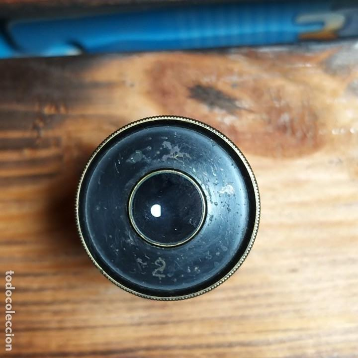 OCULAR MICROSCOPIO ANTIGUO N 2 (Antigüedades - Técnicas - Otros Instrumentos Ópticos Antiguos)