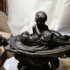 Antigüedades: A IDENTIFICAR TIPO FUENTE EN METAL. Lote 219349102