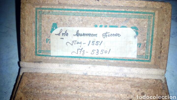 Antigüedades: Aguja de maquina de Punto de Medias Vitos - Foto 3 - 192737580