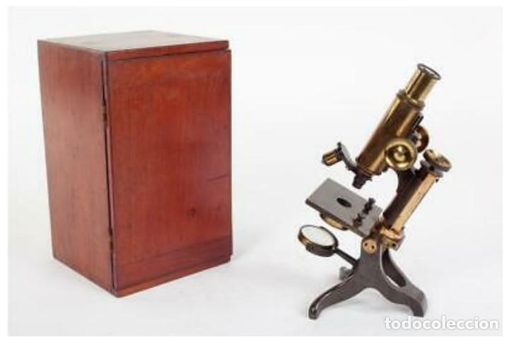 MICROSCOPIO BAKER (Antigüedades - Técnicas - Instrumentos Ópticos - Microscopios Antiguos)