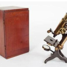 Antigüedades: MICROSCOPIO BAKER. Lote 192754981