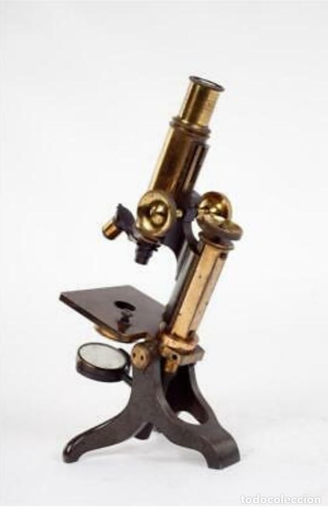Antigüedades: Microscopio Baker - Foto 4 - 192754981