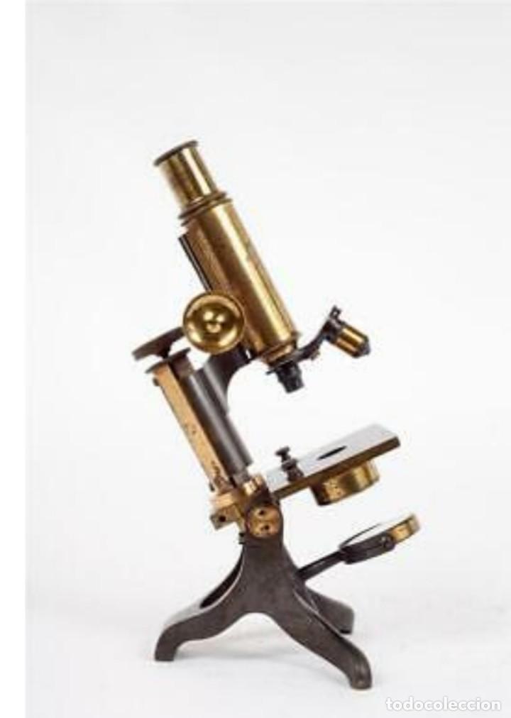 Antigüedades: Microscopio Baker - Foto 5 - 192754981