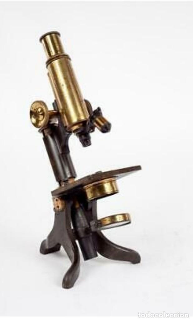 Antigüedades: Microscopio Baker - Foto 6 - 192754981