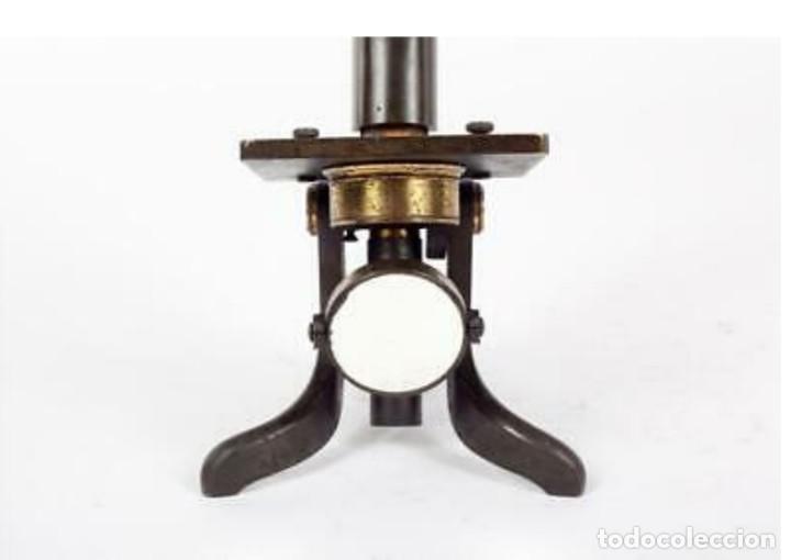 Antigüedades: Microscopio Baker - Foto 8 - 192754981