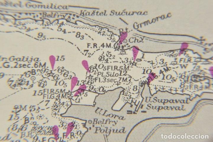 Antigüedades: COLECCION DE CARTAS NAUTICAS MARINAS 105x71 cm - Foto 7 - 192759986