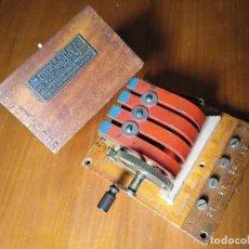 Antigüedades: CALL MAGNETO 1909 GENERADOR ELECTROMAGNETICO UTILIZADO EN TELEFONO ANTIGUO PRINCIPIOS SIGLO PASADO. Lote 192769760