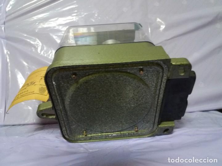 Antigüedades: ANTIGUO CONTADOR ELECTRICO AEG VINTAGE AÑOS 70 MUY DECORATIVO - Foto 10 - 192781273