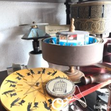 Antigüedades: TAUMATROPO, FENAQUISTISCOPIO, PRAXINOSCOPIO, LA TOUPIE FANTOCHES. JUGUETES ÓPTICOS. Lote 192801560