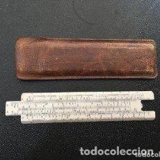 Antigüedades: ESCALIMETRO CON SU FUNDA ORIGINAL, AÑOS 60. . Lote 192903816