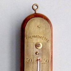 Antigüedades: ANTIGUO TERMÓMETRO FRANCÉS , EN FUNCIONAMIENTO. Lote 192976853