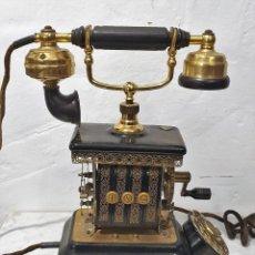 Teléfonos: TELEFONO ANTIGUO EXPOGA DANMARK.MOD E 9. Lote 192977788