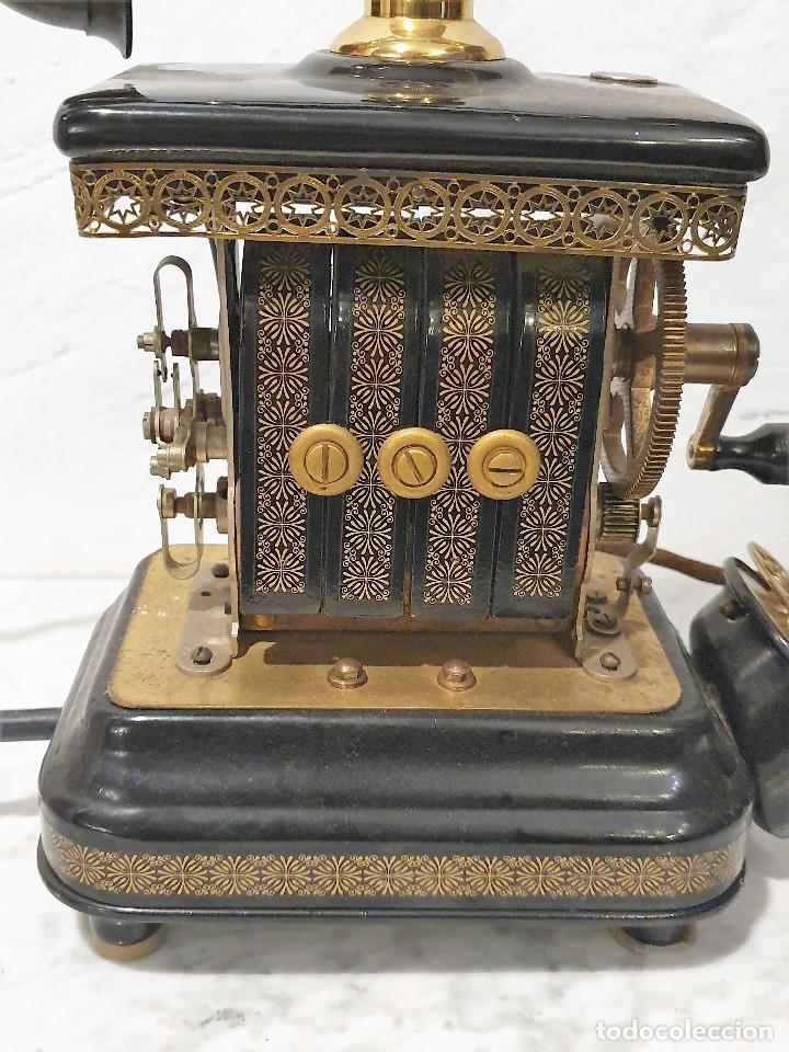 Teléfonos: TELEFONO ANTIGUO EXPOGA DANMARK.MOD E 9 - Foto 5 - 192977788