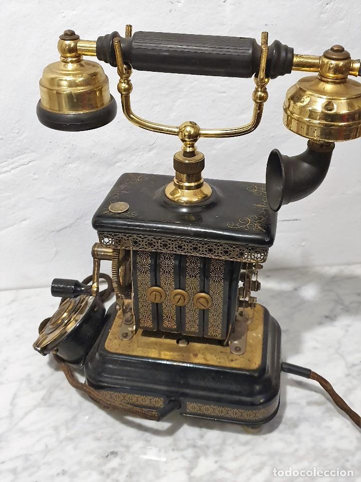 Teléfonos: TELEFONO ANTIGUO EXPOGA DANMARK.MOD E 9 - Foto 7 - 192977788