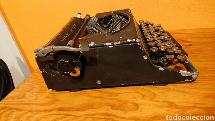 Antigüedades: Máquina de escribir hispano olivetti, años 50 - Foto 4 - 193015606