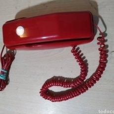 Teléfonos: ANTIGUO TELÉFONO FIJO LELUX 133 ROJO ( TIPO GÓNDOLA) - AÑOS 80/90. Lote 193074857
