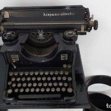 Antigüedades: MAQUINA DE ESCRIBIR OLIVETTI M40 DE 1940 FUNCIONANDO. Lote 193117921