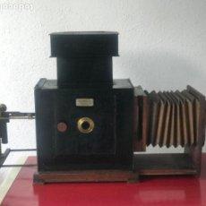 Antigüedades: LINTERNA MÁGICA JULES RICARD PARIS DE GRAN TAMAÑO FINALES DEL S.XIX. VER FOTOS ANEXAS.. Lote 193201010