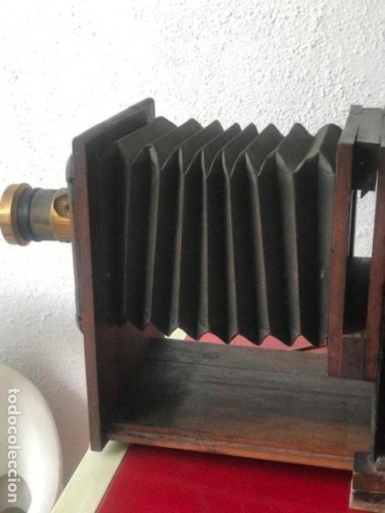 Antigüedades: LINTERNA MÁGICA JULES RICARD PARIS DE GRAN TAMAÑO FINALES DEL S.XIX. VER FOTOS ANEXAS. - Foto 16 - 193201010