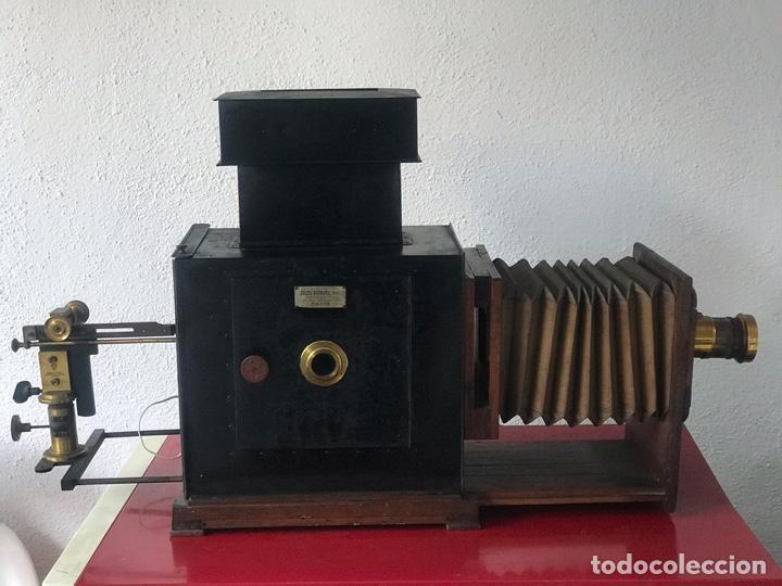 Antigüedades: LINTERNA MÁGICA JULES RICARD PARIS DE GRAN TAMAÑO FINALES DEL S.XIX. VER FOTOS ANEXAS. - Foto 30 - 193201010